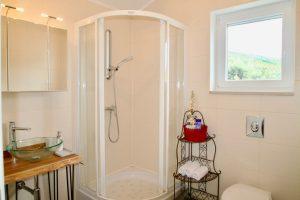 Das Badezimmer exclusiv für unsere Gäste