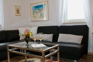"""Privatsphäre im """"kleinen"""" Wohnzimmer mit Meerblick"""