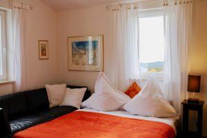 """Das """"kleine"""" Wohnzimmer bei 4 Personen-Nutzung als Schlafraum"""