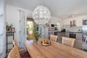 Villa Diminici - Essbereich & Küche