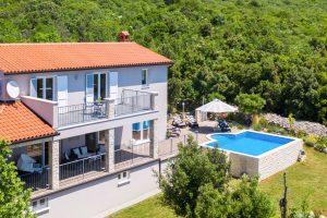 Villa Diminici - Luftansicht